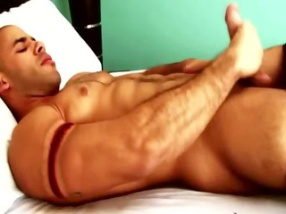 hot chap solo masturbating and cant acquire enough